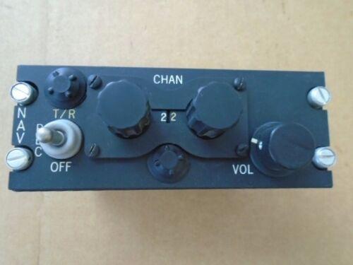 1 EA NOS C-866//ARN 21  NAV RADIO CONTROL ASSY PANEL P//N 647070