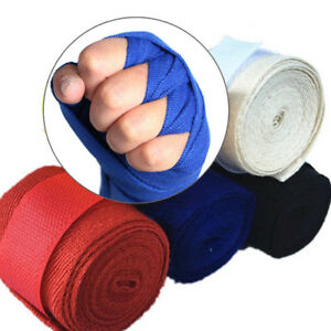 Boxing Bandage Muay Taekwondo Hand Gloves Wraps Protection M9X4