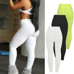 Women-PUSH-UP-High-Waist-Sport-Pants-Yoga-Leggings-Fitness-Jogging-Trousers-GIFT