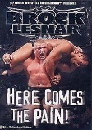 1 of 1 - WWE - Brock Lesnar (DVD, 2003) - Region 4
