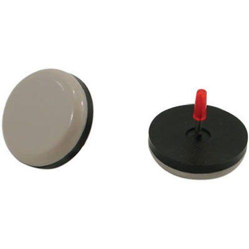 8-Pack Shepherd Hardware 9469 7//8-Inch Slide Glide Nail On Furniture Sliders