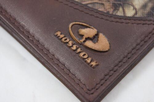 ZEP-PRO TURKEY Leather /& Nylon MOSSY OAK Roper Camo WALLET BURLAP GIFT BAG