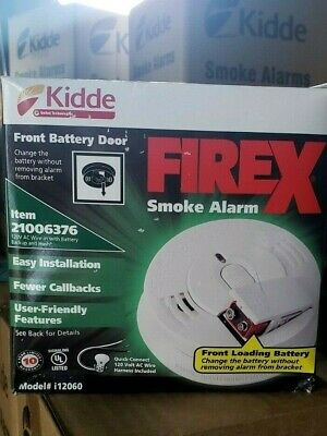 KIDDE I12040  SMOKE ALARM-6 PACK MANUFACTURED 2020