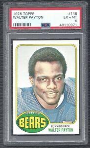 1976-Topps-Walter-Payton-Vintage-Football-Rookie-Card-RC-148-Bears-EX-MT-PSA-6