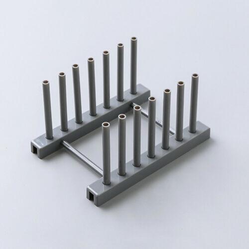 Durable Detachable Multipurpose Dishes Rack Kitchen Drain Tool Place Bowl Plate