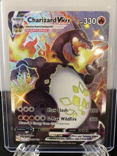 Shiny Charizard Vmax  Shining Fates  SV107/SV122 Pack Fresh Mint!