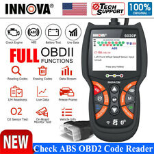 Innova 6030p Obd2 Scanner Code Reader Engine Abs Battery Check Diagnostic Tool