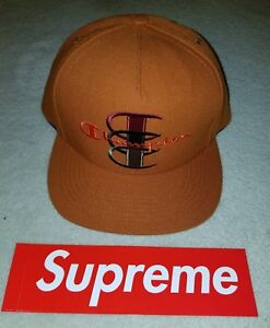 4ab8fbc772f Image is loading SUPREME-x-Champion-5-Panel-Stacked-C-Rust-