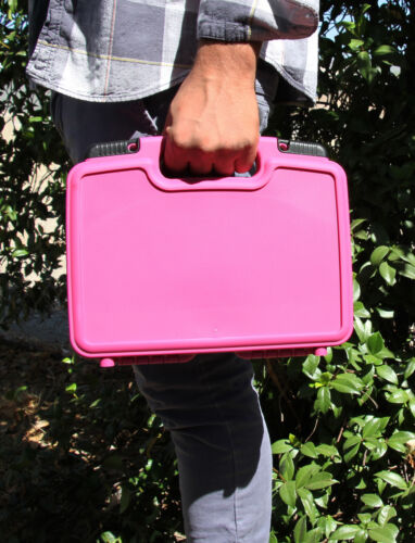 Pink Toy Case Fits LOL Surprise Dolls and LOL Dolls Accessories in Padded Foam