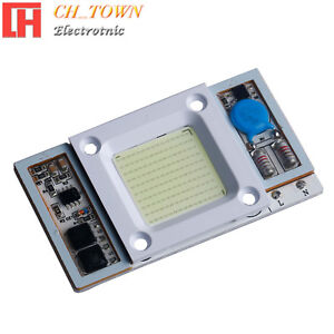 1pcs-AC110V-50W-Watt-CBO-Chip-LED-White-30000k-Flood-lights-Smart-IC-Driver-Lamp
