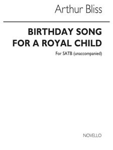 Adaptable Bliss Birthday Song Pour Un Royal Child For Satb Chorus Vocal Voice Music Book-afficher Le Titre D'origine Demande DéPassant L'Offre