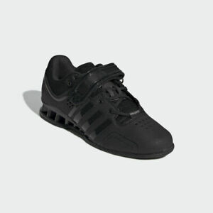 huge discount 5547d b036b Image is loading adidas-Adipower-Weightlifting-Powerlift-Training-Shoes-All- Black-