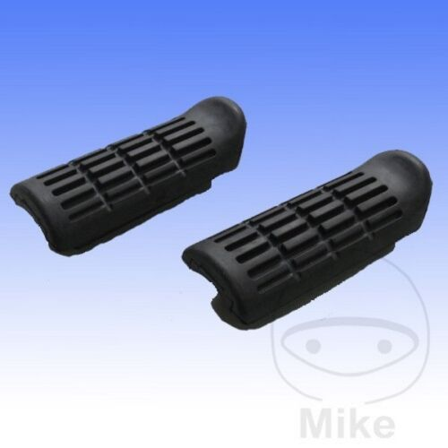 Honda CB 1300 SAA Faired ABS 2010 Front Footrest Rubbers Pair