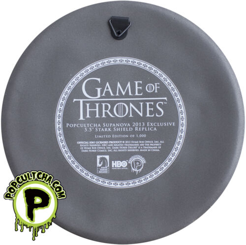 "Dark Horse Stark Shield 5.5/"" Wall Plaque Exclusive GAME OF THRONES #NEW"