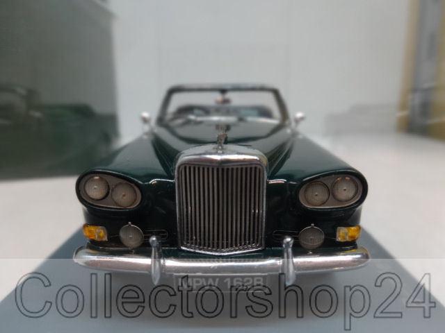 NEO   Bentley SIII Continental Mulliner Park Park Park Ward DHC, dark-verde, RHD 1963 1 43 537081