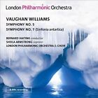 Vaughan Williams: Symphony No. 5; Symphony No. 7 (Sinfonia antartica) (CD, Sep-2013, 2 Discs, London Philharmonic Orchestra)