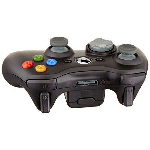 Microsoft OEM Wireless Remote Controller Black For Xbox 360 Very Good 6Z