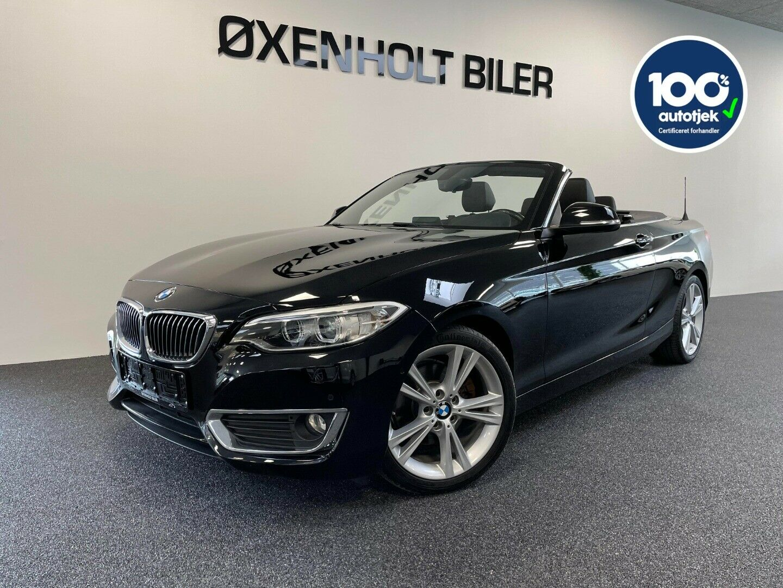 BMW 220d 2,0 Cabriolet aut. 2d - 319.900 kr.
