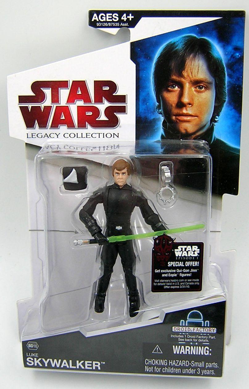Star wars legacy collection bd16 luke skywalker endor (death star ii)