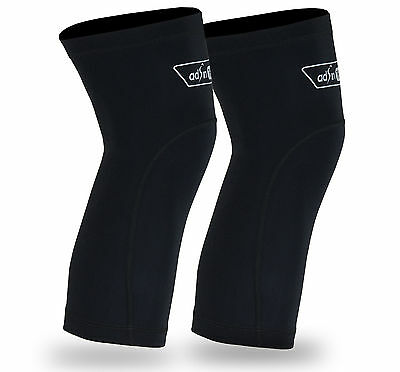 Cycling Knee Warmer Thermal Fleece Compression Winter base Running Calf