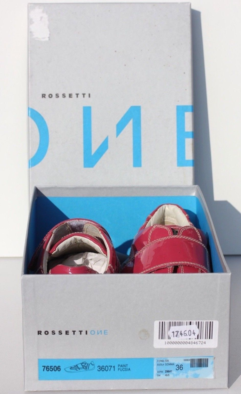 SNEAKERS pinkS WOMAN - ROSSETTI ONE - SIZE 36 - VERY BEL CONDITION