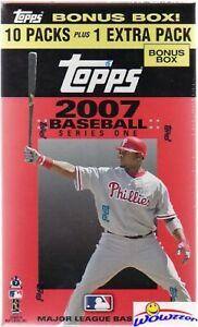 2007 Topps Series 1 Baseball Factory Sealed Blaster Box