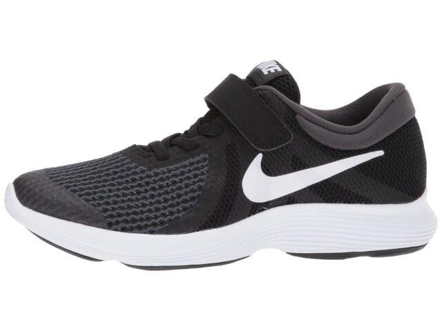 dadac4fce56e Nike Boy s Revolution 4 (PSV) Little Kid Running Shoes 943305 006 Black  White