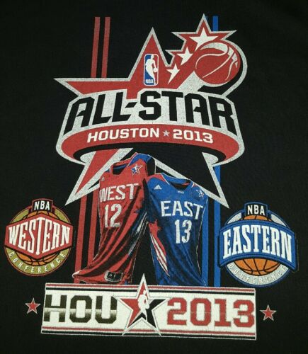 All Star Houston 2013 t-shirts for men large