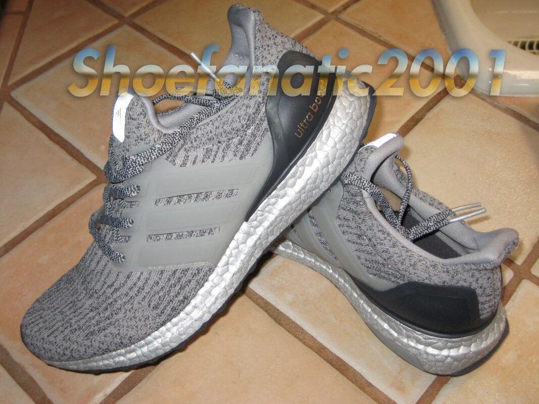 Adidas UltraBoost LTD 7.5 Grey Silver Super Bowl Pack BB8143 Ultra Boost Kanye
