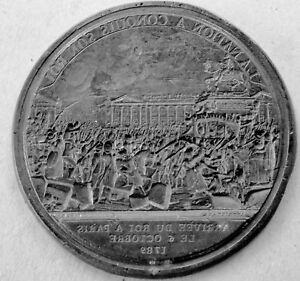 RAR-inverse-MEDAILLE-1789-ARRIVEE-LOUIS-XVI-A-PARIS-Apres-victoire-Bastille