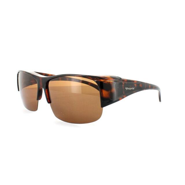 Polaroid Suncovers Fitover Sunglasses P8900 09Q HE Brown Copper Polarized
