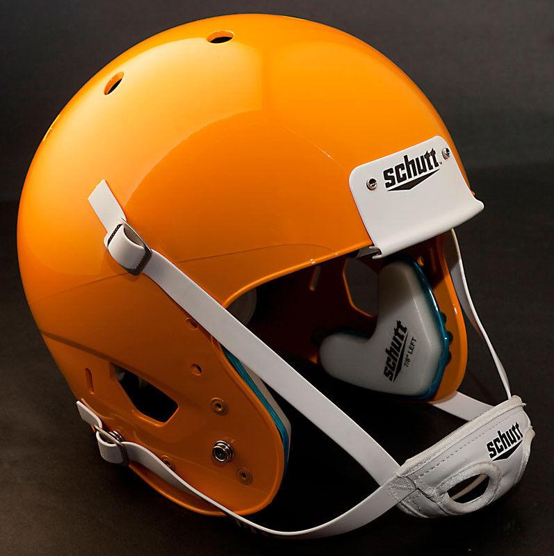 Schutt AiR XP Football Helmet ADULT LARGE (color  GREEN BAY gold) NEW