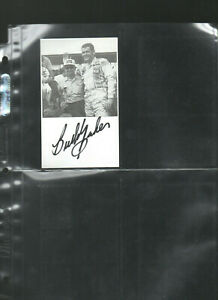 BUDDY-BAKER-AUTOGRAPHED-SIGNED-AUTO-HAND-SIGNED-INDEX-CARD-3X5-E
