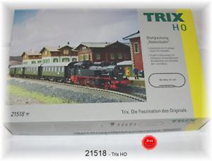 Trix 21518 Escala Ho Set de Iniciación  Línea Secundaria  con Br 74 Db