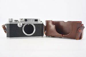 Canon-IIF-35mm-Film-Rangefinder-Camera-Body-With-Strap-amp-Original-Case-Bottom-V5