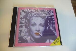 MYTHOS-CD-MARLENE-DIETRICH-PETER-ALLEIN-MEIN-BLONDES-BABY-MARIE-MARIE