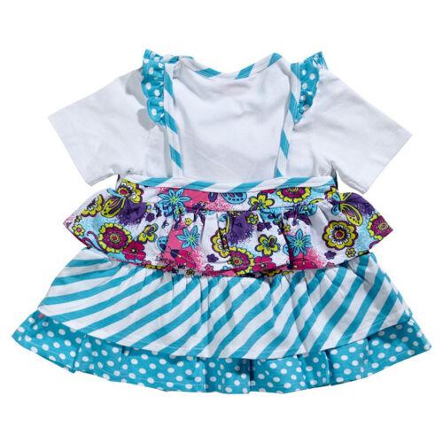 80 86 92 98 ME TOO ♥ Baby Mädchen Kurzarm-Kleid STREIFEN PUNKTE im Mustermix Gr