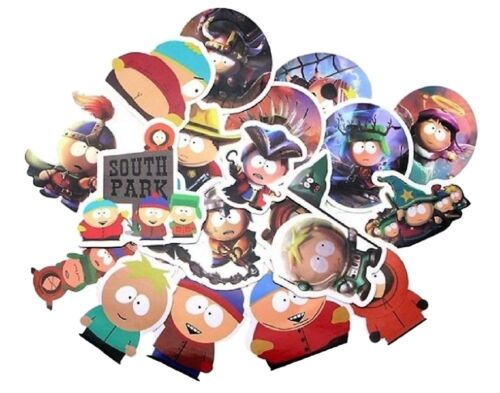 South Park Cartoon TV Show Themed Set of 21 Assorted Stickers Decal Set