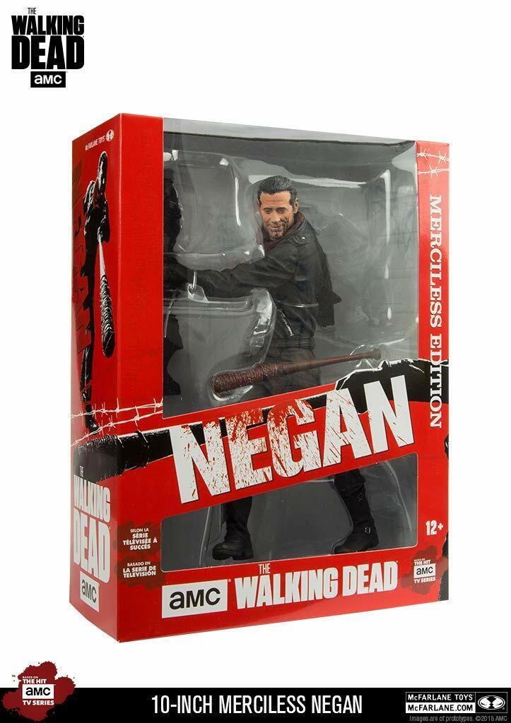 2018 McFarlane Toys Walking Dead Negan Merciless Edition 10  Deluxe Figure