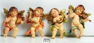 Set-4-angeli-suonatori-in-resina-da-appendere-cm-16-by-Paben