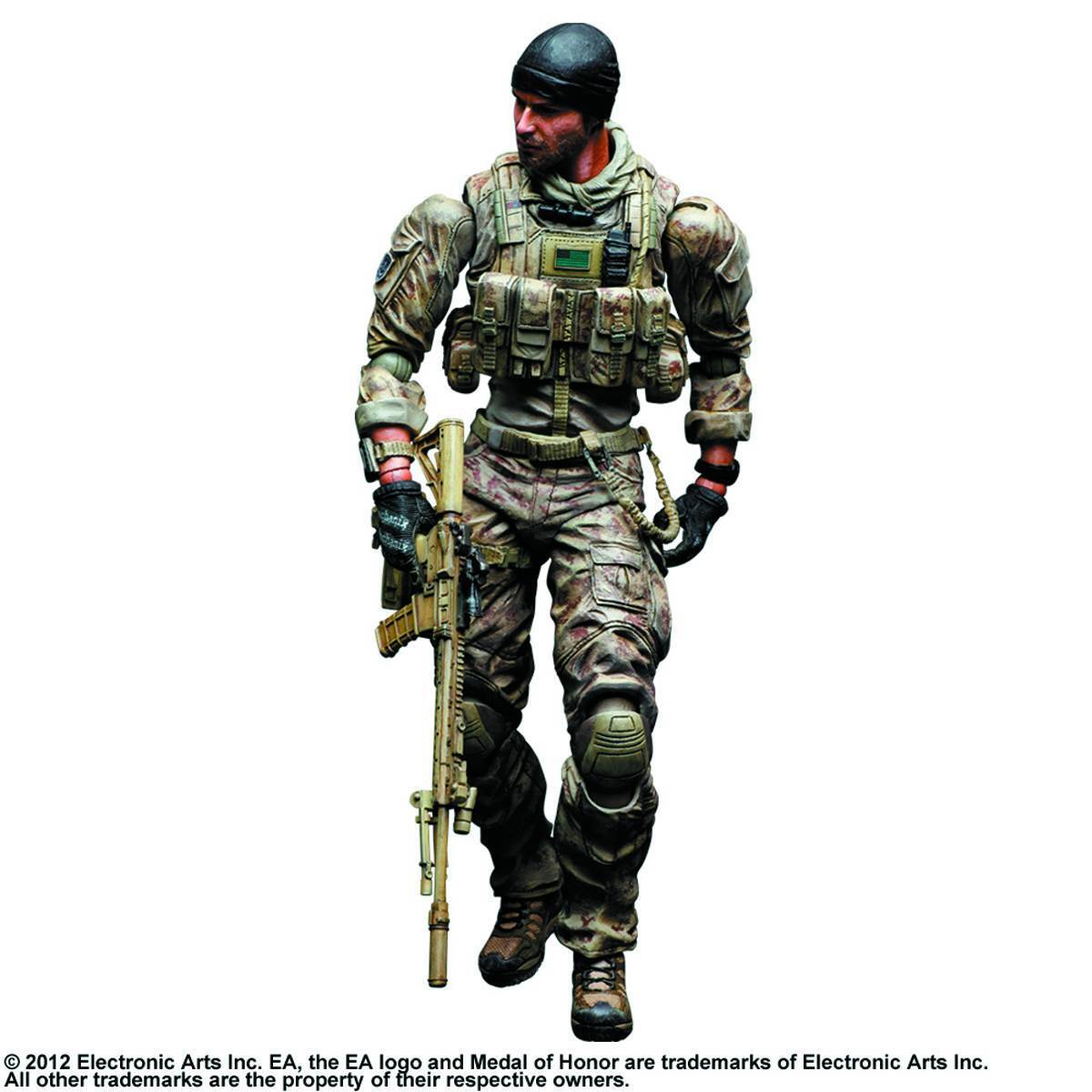 Medal of Honor Warfighter Play Arts Kai Preacher figurine 10