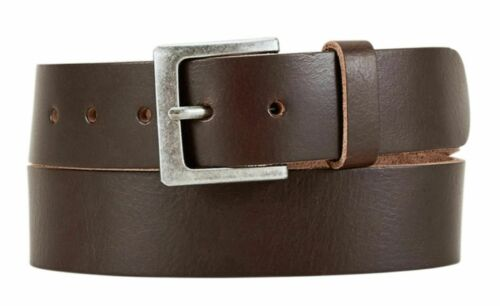 s.Oliver Leather Belt W100 Accessoire Dark Brown Neu