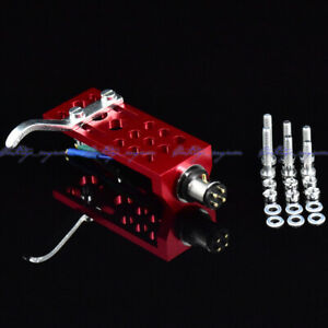 New-20pcs-lot-OFC-wire-gold-terminals-HiFi-CNC-machined-turntable-red-headshell