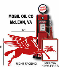 """16/"""" OLD style  STANDARD TORCH GAS PUMP OIL TANK DECAL"""