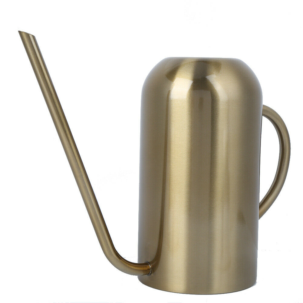 Stainless Steel Long Spout Watering Can Garden Watering Pot Irrigation Tool G Te