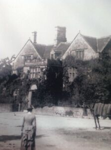 Ephemera-Book-Reprint-Picture-The-Peacock-Inn-Rowsley-1886-M48