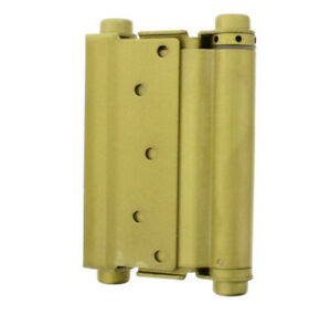 Ultra-Hardware-6-034-Heavy-Duty-Brass-Double-Action-Spring-Hinges-Set-of-2