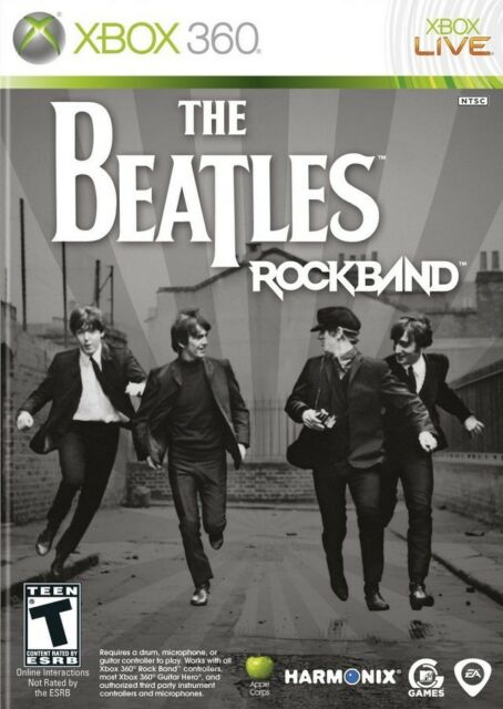 Beatles: Rock Band - Xbox 360 Game