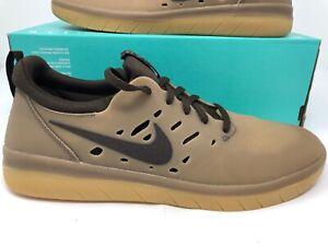 new styles dcd3a 139dd Image is loading Nike-SB-Nyjah-Free-Gum-Dark-Baroque-Brown-