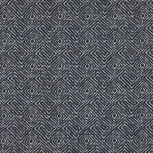Maxwell Geometric Greek Key Upholstery Fabric Hip Squares Black 7 60